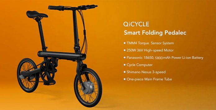 QICYCLE TDR01Z Electric Bike