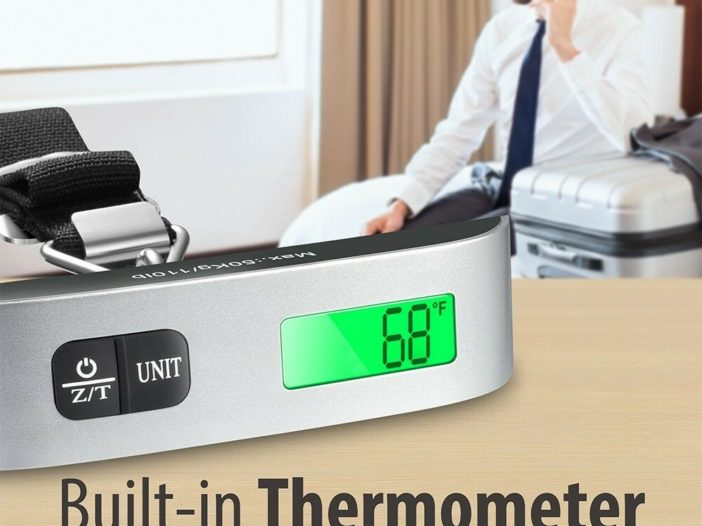 Digital Hanging Luggage Scale Deal