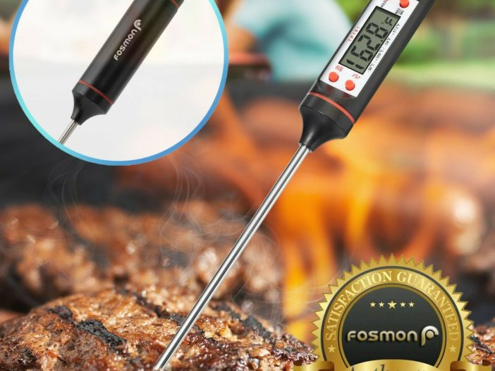 SAVE $14.50 on Instant Read Digital Electronic Kitchen Cooking BBQ Grill Food Meat Thermometer deal
